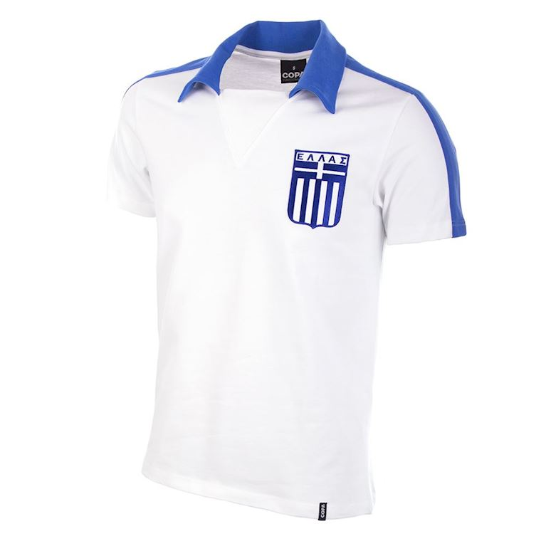 556 | Greece 1988 Short Sleeve Retro Football Shirt | 1 | COPA