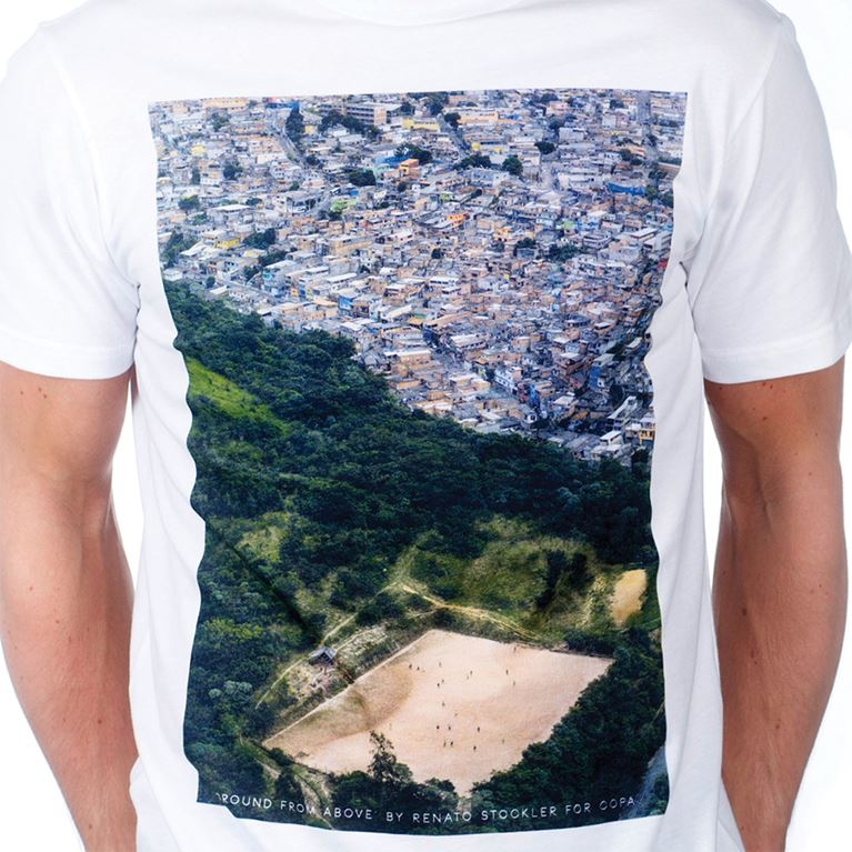 6680 | Ground From Above T-Shirt | White | 2 | COPA