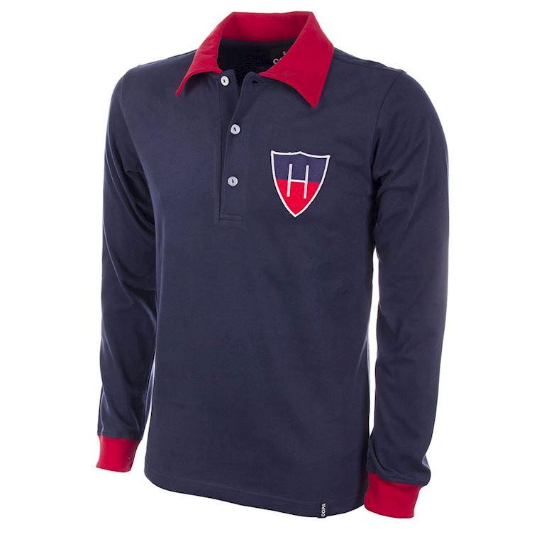 792 | HFC Haarlem 1950's Long Sleeve Retro Football Shirt | 1 | COPA