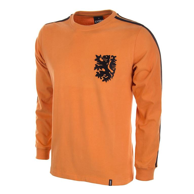 124 | Holland World Cup 1974 Long Sleeve Retro Football Shirt | 1 | COPA