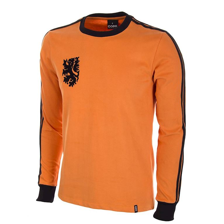 558 | Holland 1977 Long Sleeve Retro Football Shirt | 1 | COPA