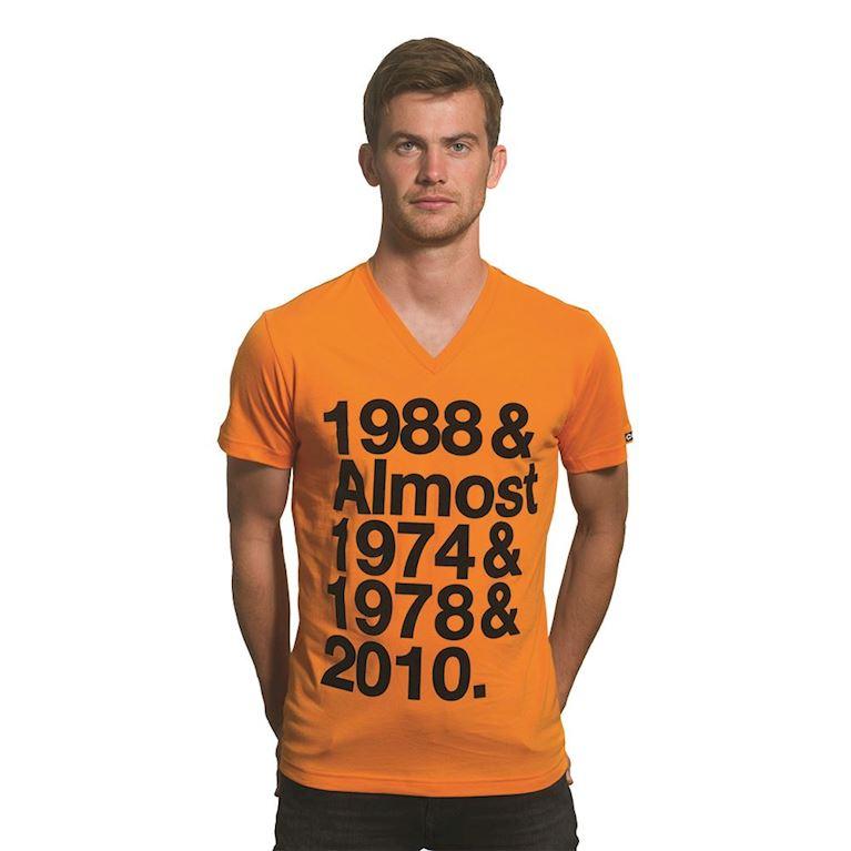 6622 | Holland Almost V-Neck T-Shirt | Orange | 1 | COPA