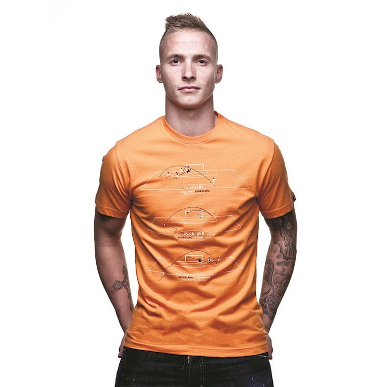 6583 | Holland Greatest Moments T-Shirt | Orange  | 1 | COPA