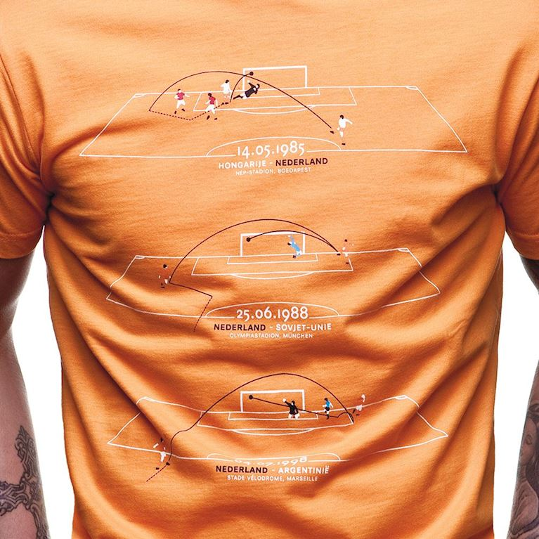 6583 | Holland Greatest Moments T-Shirt | Orange  | 2 | COPA