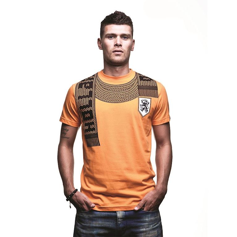 6587 | Holland Scarf T-Shirt | Orange  | 1 | COPA