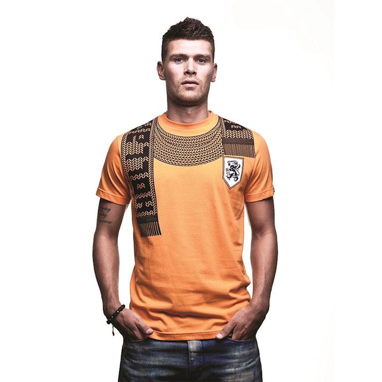 6587 | Holland Scarf T-Shirt | Orange | 1 | COPA