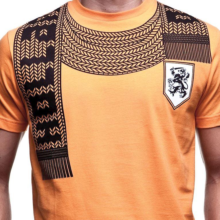6587 | Holland Scarf T-Shirt | Orange | 2 | COPA
