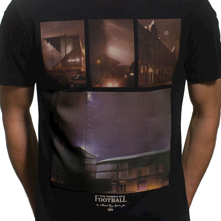 6663 | Homes of Football T-Shirt | Black | 2 | COPA