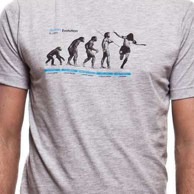 6532   Human Evolution T-Shirt   2   COPA
