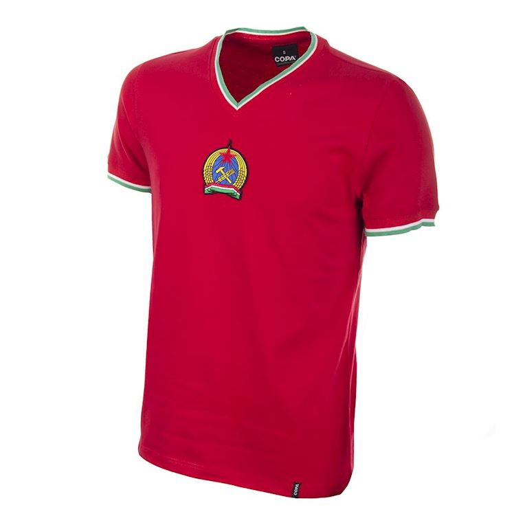 562 | Hungary 1970's Short Sleeve Retro Football Shirt | 1 | COPA