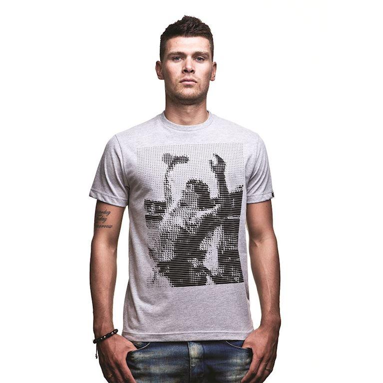 6563 | Iconic T-Shirt | Grey Mêlée | 1 | COPA