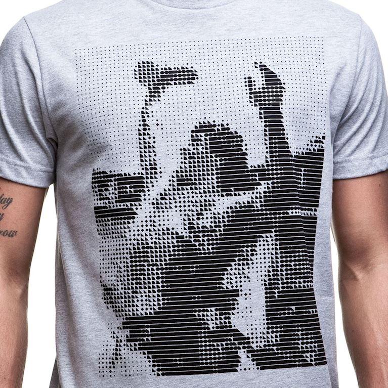 6563 | Iconic T-Shirt | Grey Mêlée | 2 | COPA