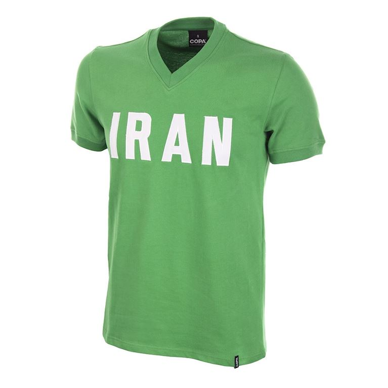 680 | Iran 1970's Short Sleeve Retro Football Shirt  | 1 | COPA