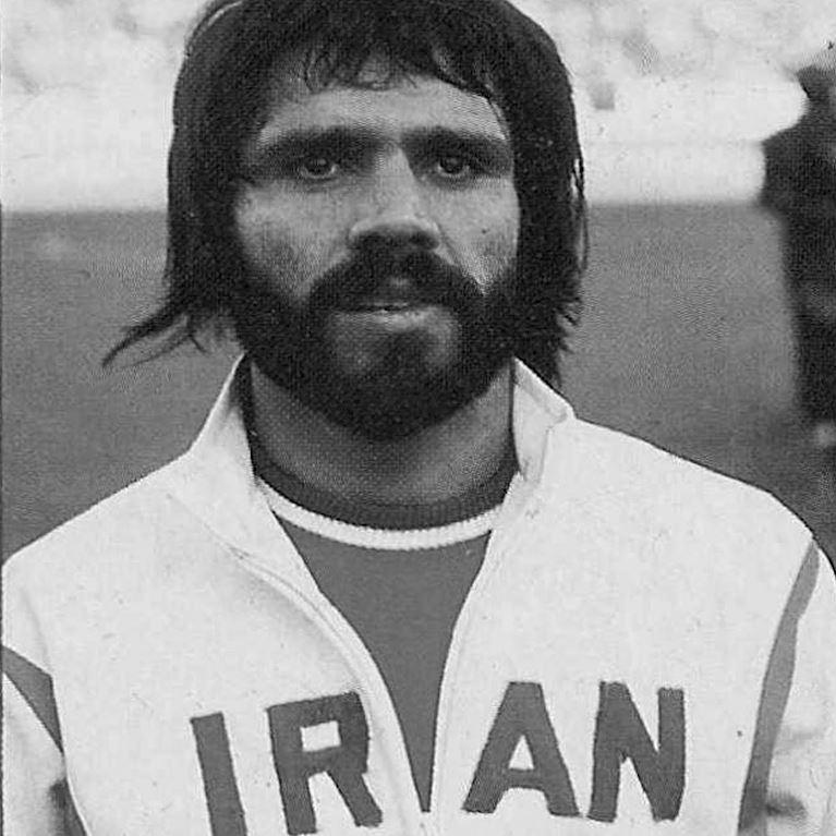 824   Iran 1970's Retro Football Jacket   2   COPA