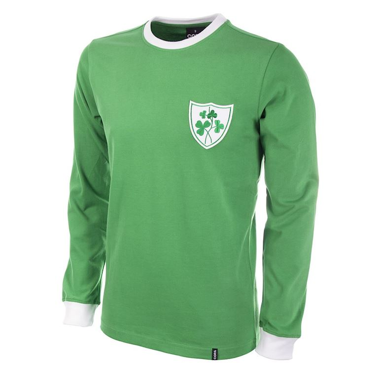 308 | Ireland 1960's Long Sleeve Retro Football Shirt | 1 | COPA