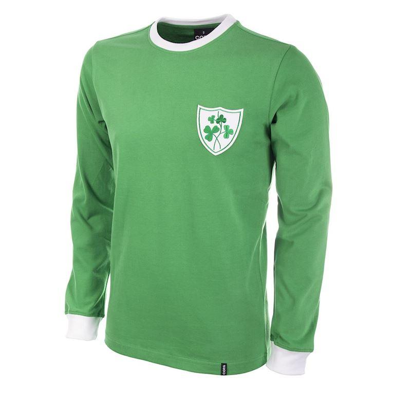 308 | Ireland 1960's Long Sleeve Retro Football Shirt | 1 | COPA