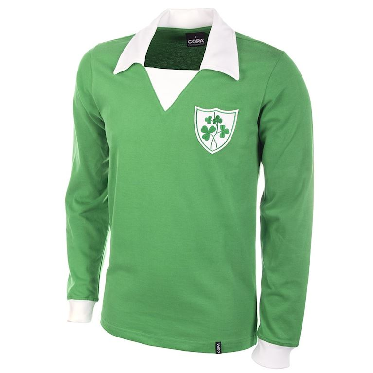 310 | Ireland 1970's Long Sleeve Retro Football Shirt | 1 | COPA