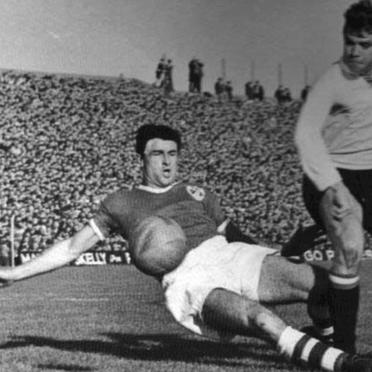 308 | Ireland 1960's Long Sleeve Retro Football Shirt | 2 | COPA