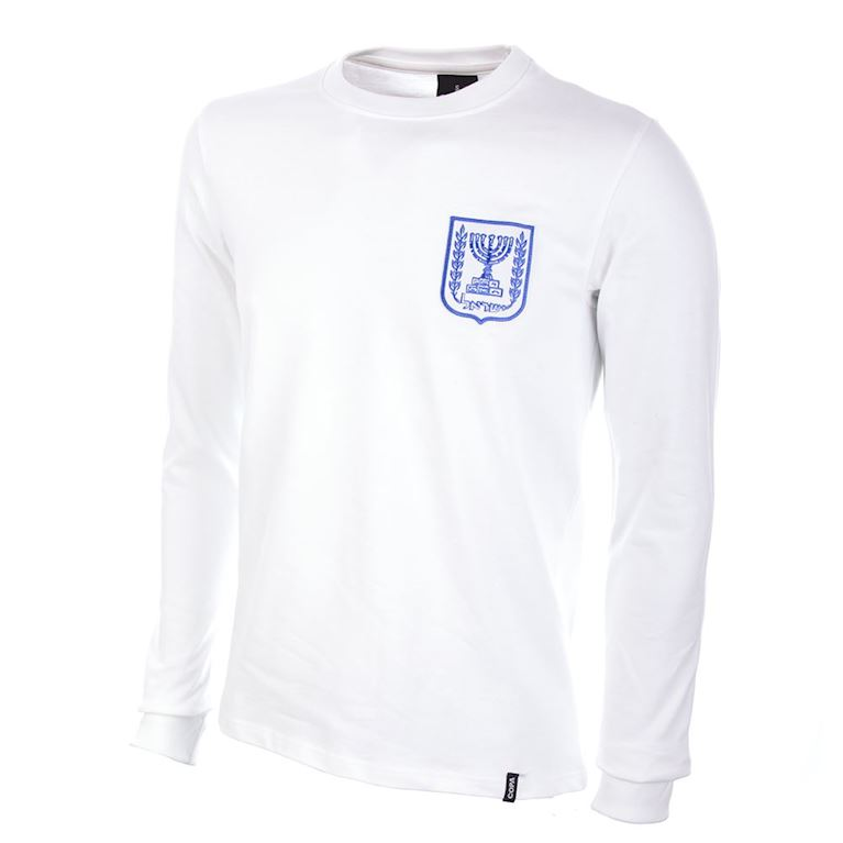 563 | Israel 1970's Long Sleeve Retro Football Shirt  | 1 | COPA