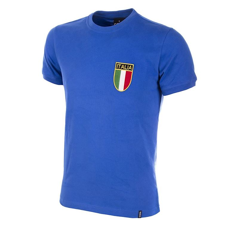 113 | Italy 1970's Retro Football Shirt | 1 | COPA