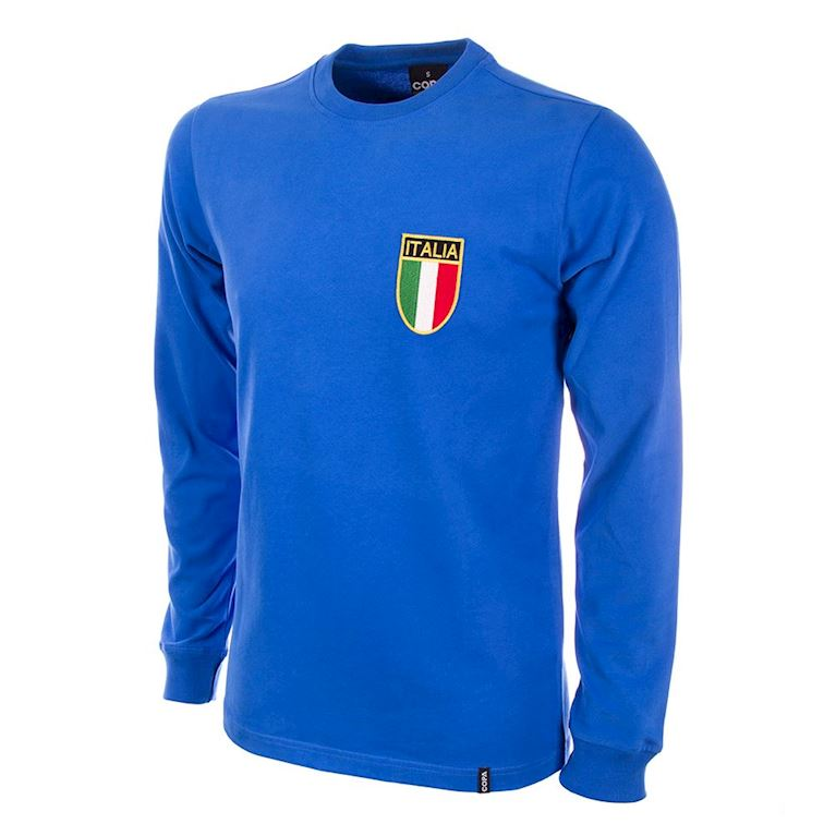 101 | Italy 1970's Long Sleeve Retro Football Shirt | 1 | COPA