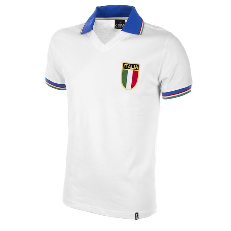 120 | Italy Away World Cup 1982 Retro Football Shirt | 1 | COPA