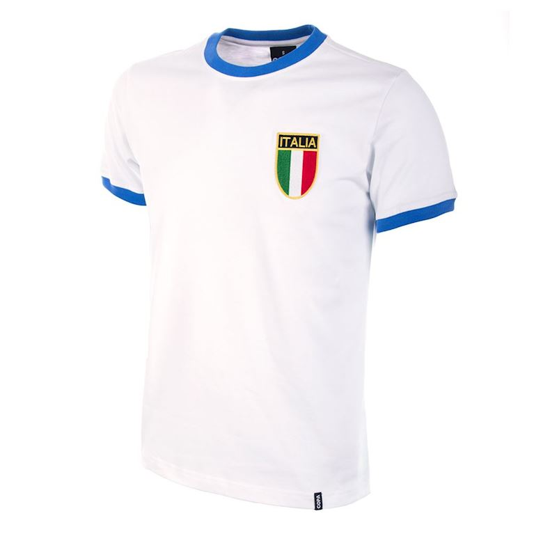 102 | Italy Away 1960's Retro Football Shirt | 1 | COPA