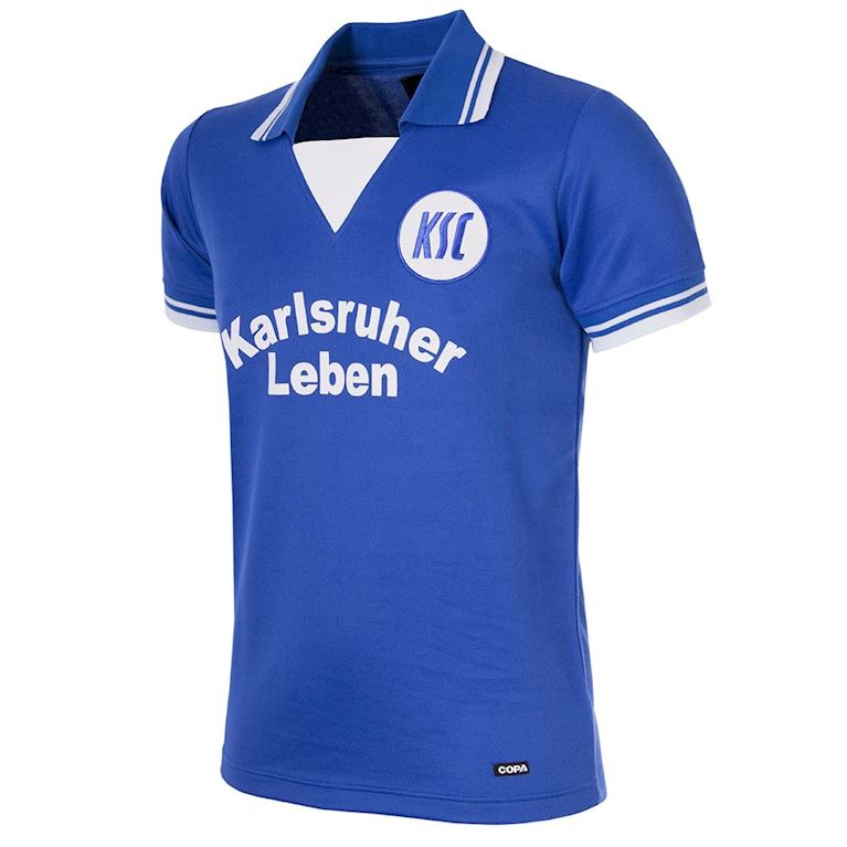 712 | Karlsruher SC 1977-78 Short Sleeve Retro Shirt | 1 | COPA