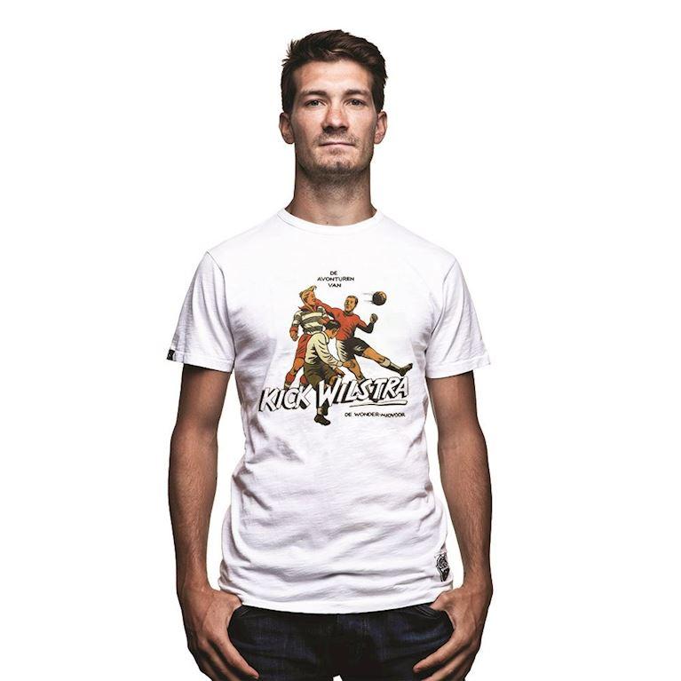 6713 | Kick Wilstra Vintage T-shirt | White | 1 | COPA
