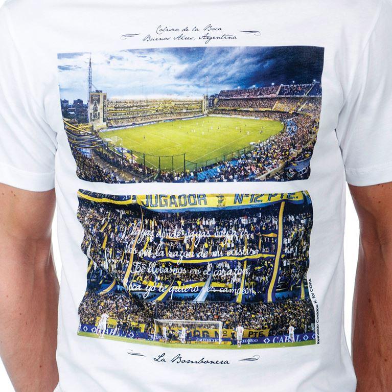 6694 | La Bombonera T-Shirt | White | 2 | COPA