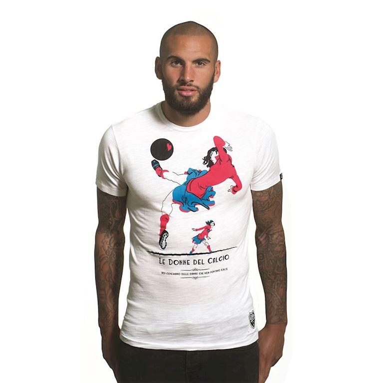 6712 | Le Donne del Calcio Vintage T-Shirt | White | 1 | COPA