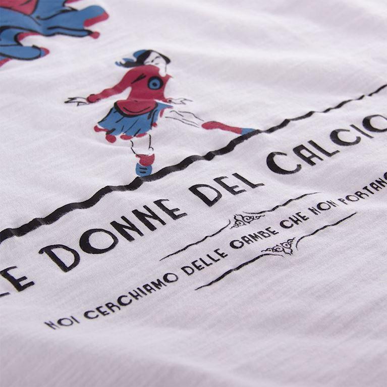 6712 | Le Donne del Calcio Vintage T-Shirt | White | 2 | COPA