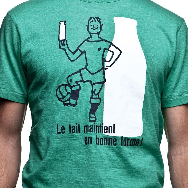 6705   Le Lait Vintage T-Shirt   Green   2   COPA
