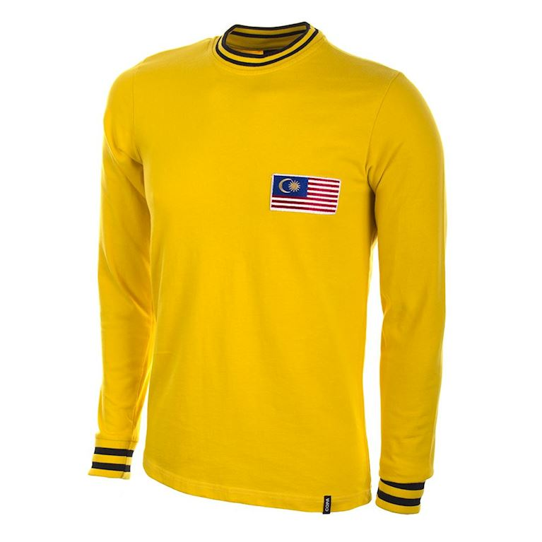 578 | Malaysia 1972 Long Sleeve Retro Football Shirt  | 1 | COPA