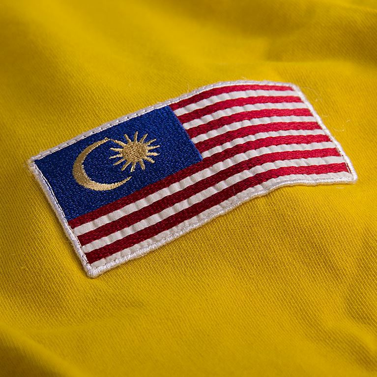 578 | Malaysia 1972 Long Sleeve Retro Football Shirt  | 2 | COPA
