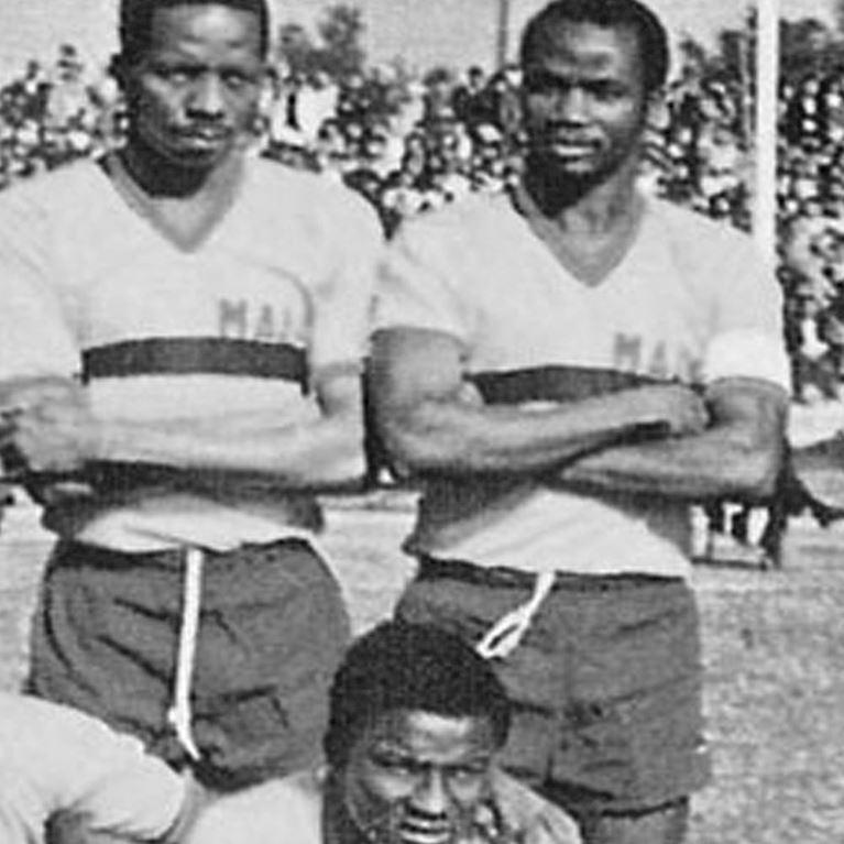 688 | Mali 1980's Short Sleeve Retro Football Shirt | 2 | COPA