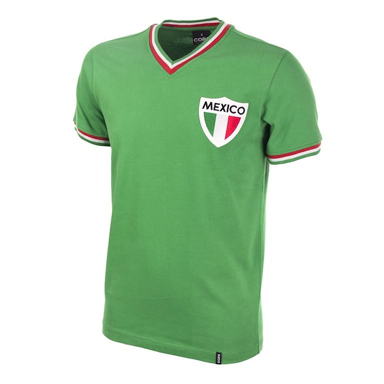 545 | Mexico Pelé 1980's Short Sleeve Retro Football Shirt | 1 | COPA