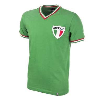 545 | Mexico Pelé 1980's Retro Football Shirt | 1 | COPA