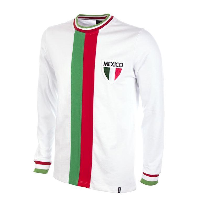 582   Mexico Away World Cup 1982 Long Sleeve Retro Football Shirt   1   COPA
