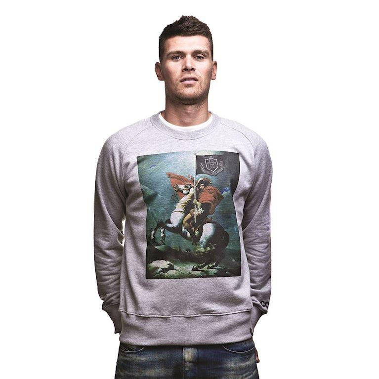 6434   Napoleon Sweater   Grey Mêlée   1   COPA