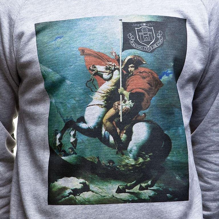 6434   Napoleon Sweater   Grey Mêlée   2   COPA