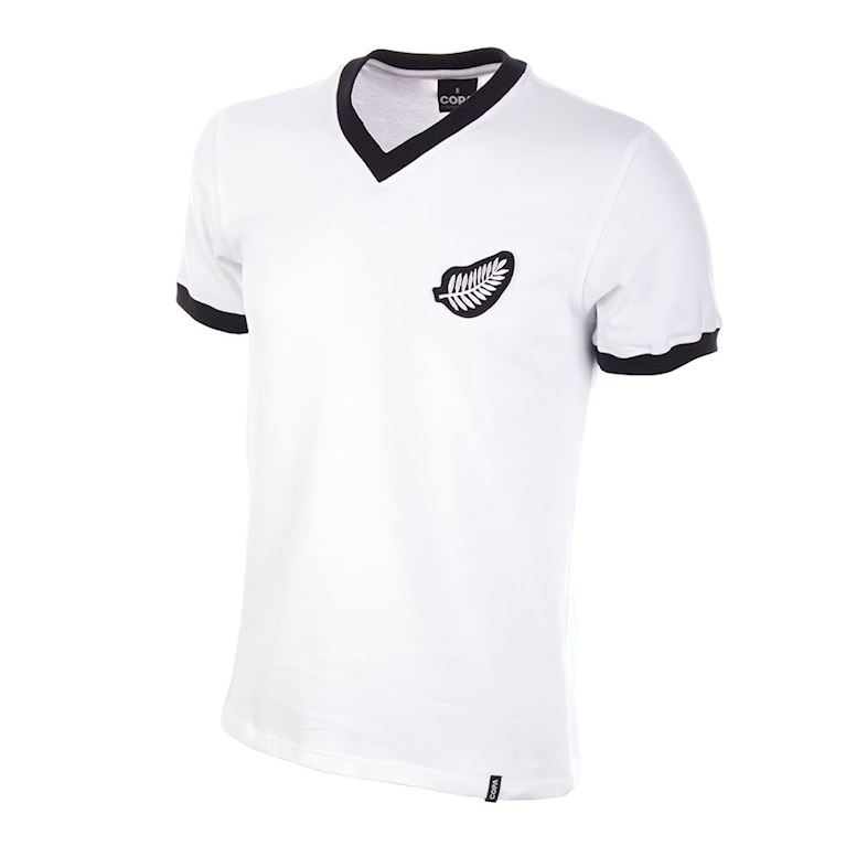 595 | New Zealand World Cup 1982 Retro Football Shirt | 1 | COPA