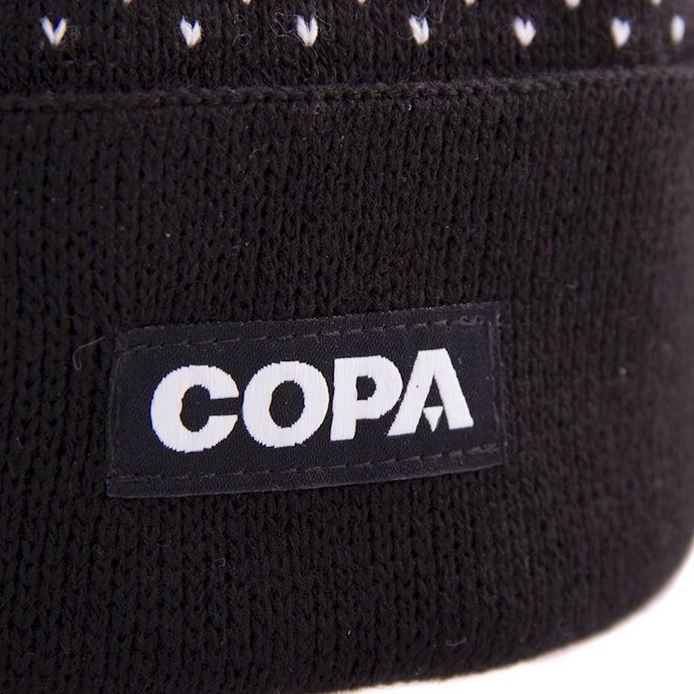 5007   Nordic Knit Beanie   Black-White   2   COPA