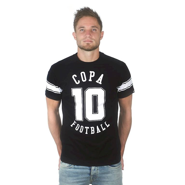 6668 | Number 10 T-Shirt | Black | 1 | COPA