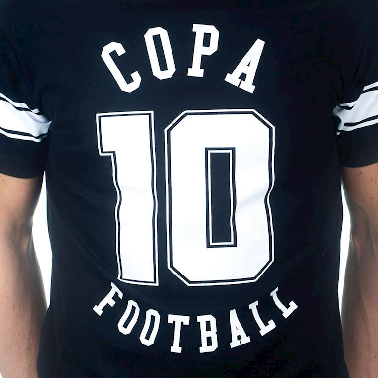6668 | Number 10 T-Shirt | Black | 2 | COPA