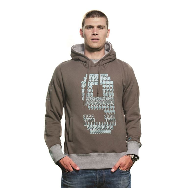 6411 | Number 9 Hooded Sweater | Army Green | 1 | COPA