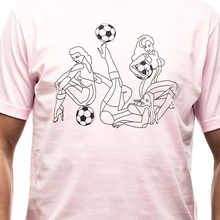 6546 | Pin Up T-Shirt | Pink | 2 | COPA
