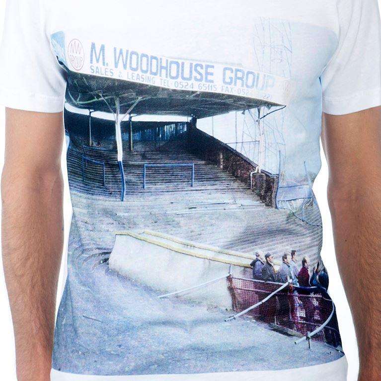 6685   Preston North End Terraces T-Shirt   White   2   COPA