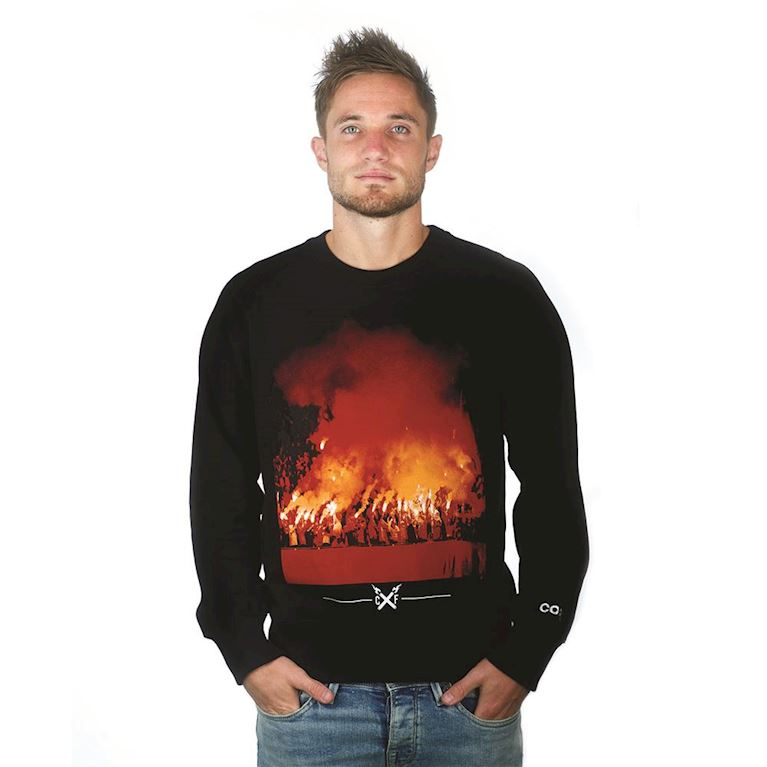 6451 | Pyro Sweater | Black  | 1 | COPA