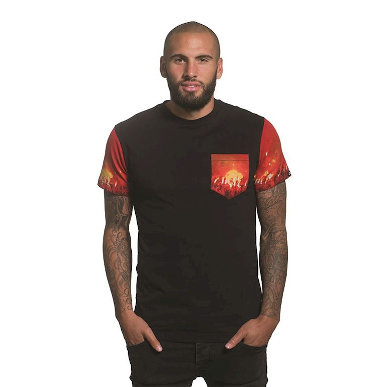 6659 | Pyro Pocket T-Shirt | Black | 1 | COPA